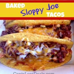Baked Sloppy Joe