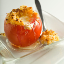 Baked Stuffed Tomatoes With Goat Cheese Fondue