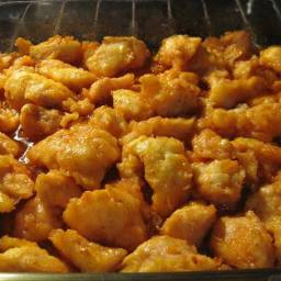 ~ Baked Sweet and Sour Chicken ~