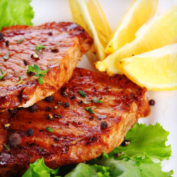 Baked Tamari-Lemon Pork Chops