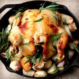 Baked Tarragon Chicken Thompson