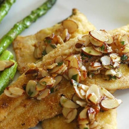 Baked Trout with Buttered Almonds