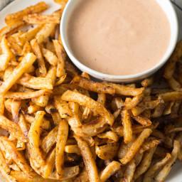 Baked Turnip Fries (+ AirFryer)