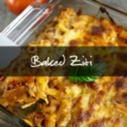 Baked Ziti {Freezer-friendly Recipe}