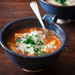 Baked Ziti Soup