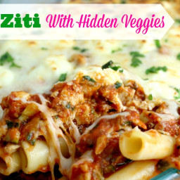 Baked Ziti With Hidden Veggies