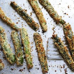 Baked Zucchini Wedges – Garden & Gun