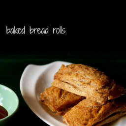 baked bread rolls recipe