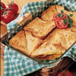 Baked Brunch Sandwiches Recipe