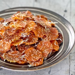 Baked Butternut Squash Chips