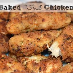 Baked Fried Chicken Tenderloins