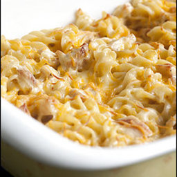 Baked Pasta With Chicken and Pepper Jack