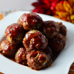 Baked Sweet and Saucy Meatballs