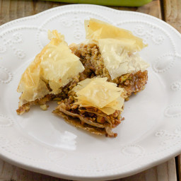 Baklava Recipe | Nuts and Phyllo Greek Dessert