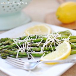 Balsamic Asparagus with Parmesan