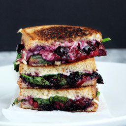 Balsamic Berry Vegan Grilled Cheese