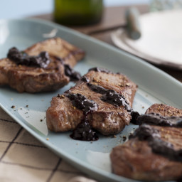 Balsamic Blueberry Steak Sauce