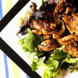 Balsamic Chicken Dinner Salad
