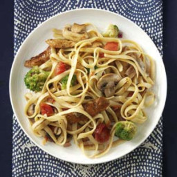 Balsamic Chicken Fettuccine Recipe