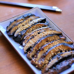 Balsamic-Ginger Grilled Portobello Mushrooms