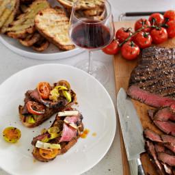 Balsamic Marinated Flank Steak