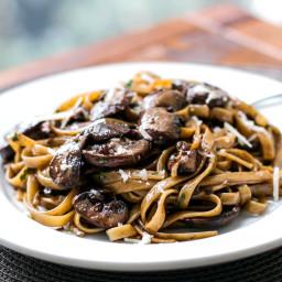 Balsamic Mushroom Pasta
