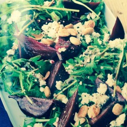 Balsamic Roasted Beet Salad
