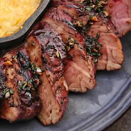 Pork Tenderloin, With Balsamic Rosemary