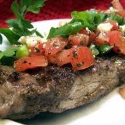 Balsamic Tomato Steaks