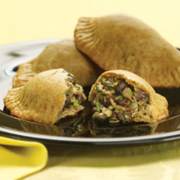 Banana and Black Bean Empanadas