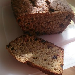 Weight Watchers Banana and Saltana Loaf