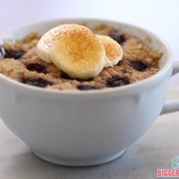 Banana Bread 1 Minute Microwave Mug Cakes