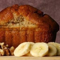 Banana Bread with Honey And Applesauce