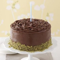 Banana Cake with Chocolate Frosting Recipe