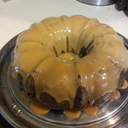 Banana-Chocolate Bundt Cake