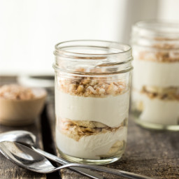 Banana Coconut Cream Parfaits