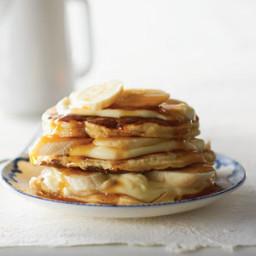 Banana Cream Pancakes