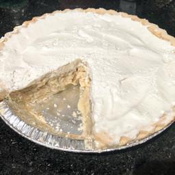 Banana Custard Pie