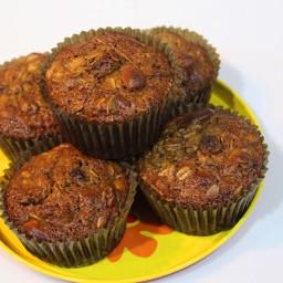 Banana Granola Muffins Recipe