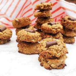 Banana Molasses Ginger Breakfast Cookies