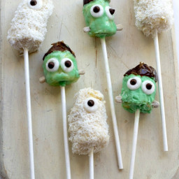 Banana Monster Pops