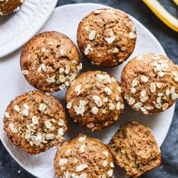 Banana Muffins - Bakery Style