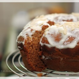 Banana Nut Buttermilk Cream Cheese Bread**