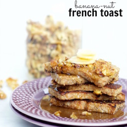 Banana-nut French toast