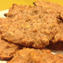 Banana oat protein cookies