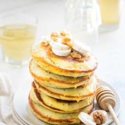Banana Poppy Seeds Pancake