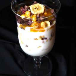 Banana Split Parfait