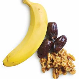 Banana-Walnut-Date Muffins