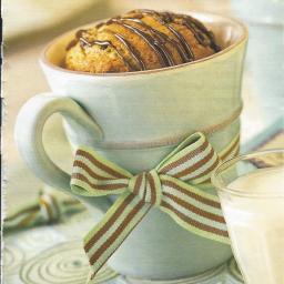 Banana Chocolate Chip Cup Cake