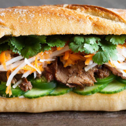 Banh Mi Steak Sandwiches